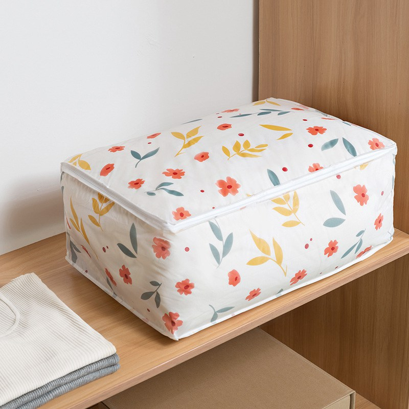 LASPERAL Laundry Storage Box Quilt Clothes Basket Bra Necktie Socks Organizer Bins Closet For Home Living Room Holders Bags