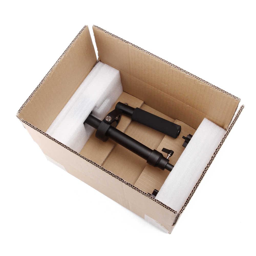 S40/s60/s80 steadycam 40 cm/60 cm/80 cm estabilizador handheld steadicam de alumínio + bolsa de transporte para fotografia de câmera de vídeo dslr