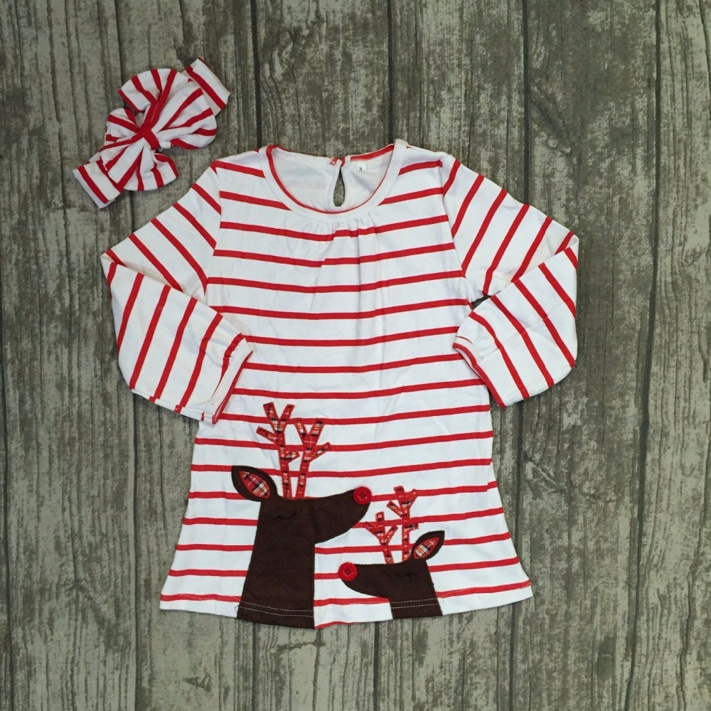 baby girls Christmas boutique dress girls Fall dress Christmas party stripe dress grils reindeer dress long sleeve with headband frank buytendijk dealing with dilemmas where business analytics fall short