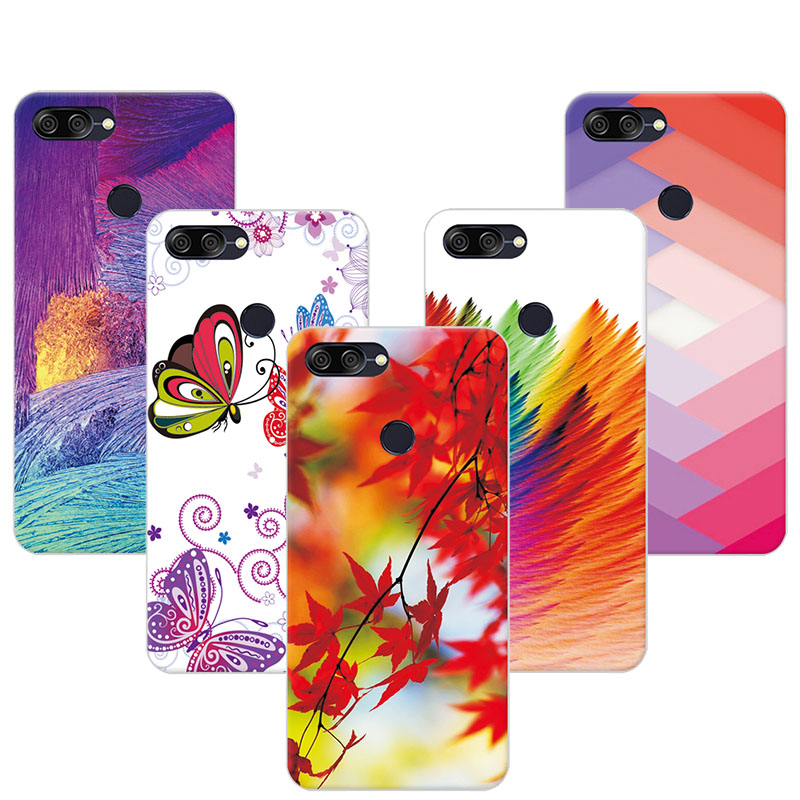 Colorful Phone Case For Asus Zenfone Max Plus M1 5.7