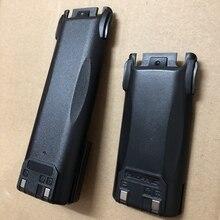 Pil UV 82 walkie talkie 2800mAh 3800mAh şarj edilebilir pil