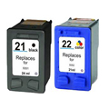 2pcs Compatible Ink Cartridge For HP 21 22 xl Deskjet 3915 3920 D1530 D1320 D1311 D1455 F2100 F2280 F4100 F4180 for hp21 22