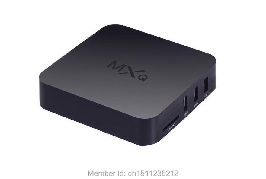 US $306 06 |Good looking kodi UI box mini pc android kitkat MXQ smart box  tv android 4 4 quad core mali450 gpu-in Set-top Boxes from Consumer