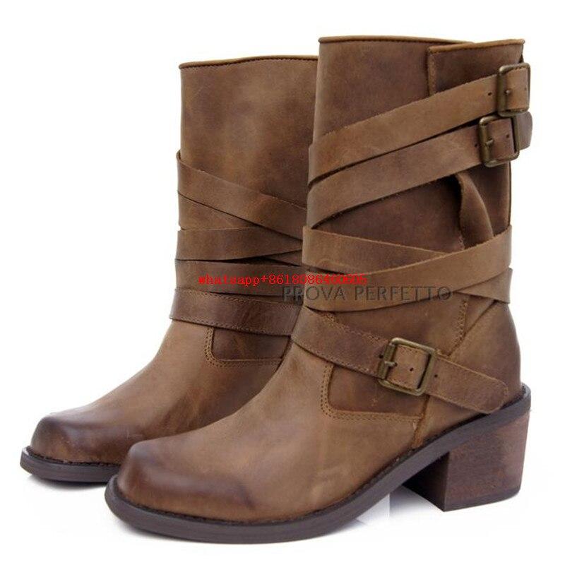 Leather Rain Boots Yu