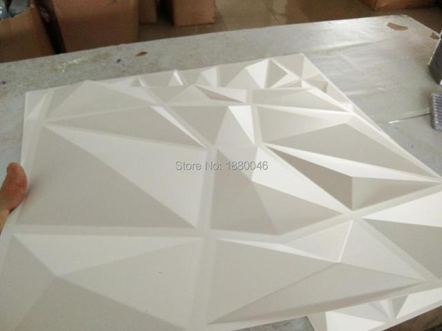 1 BOÎTE 20 pcs 50*50 CM 3D plaque panneau Décoratif 3D Wall ...