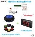 De longo alcance K-302 beeper com 99 canal tranmitter e sino de chamada convidado