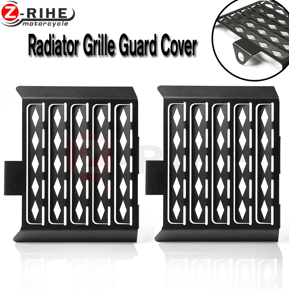 New Black Motorcycle Accessories Radiator Guard Protector Grille Grill Cover For bmw F650GS Single-all years F650GS Dakar цены онлайн