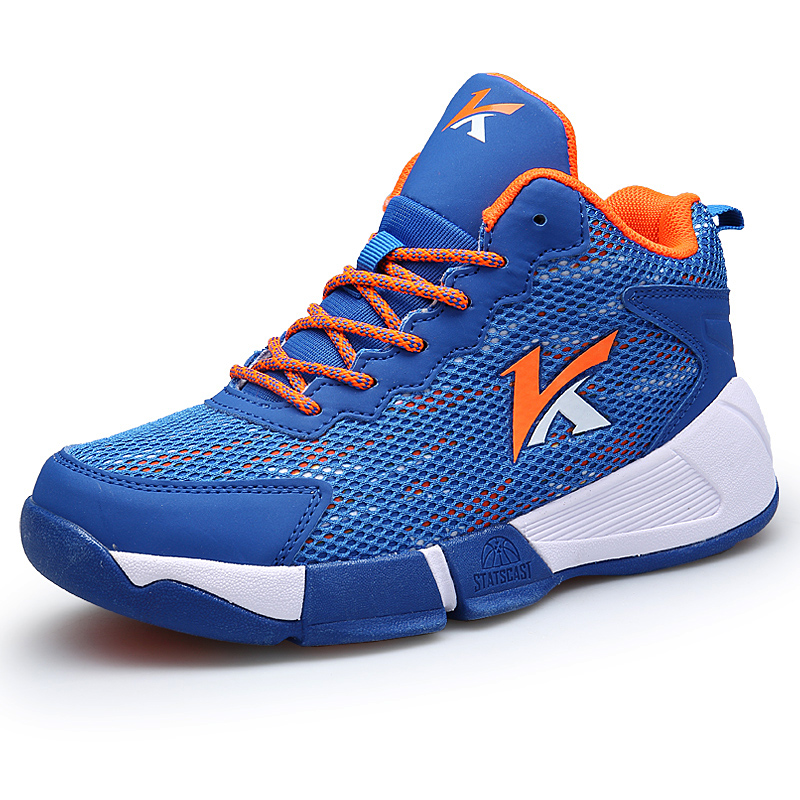 Brand Fashion 2018 Designer Boy Shoes Breathable Mesh Toddler Kids Children Outdoor Trainers Mens Basketball Shoes Sneaker