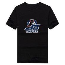 2017 New 100% Cotton  Empire T-shirt Star Wars Darth Vader Winnipeg T Shirt 0105-10