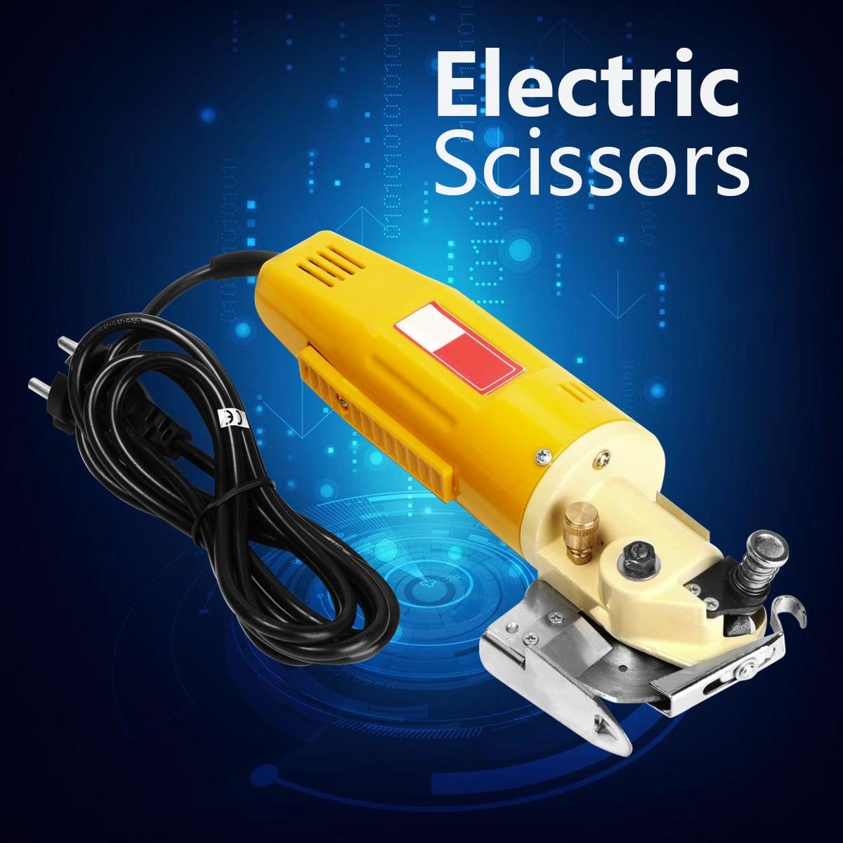 Electric Fabric Cutter 170W 220V 70mm Rotary Blade Cloth Textile Cutter Round Cloth Cutting Machine Tool цена