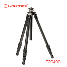 SUNWAYFOTO T2C40C Carbon Fiber  Professional Camera Tripod for Dslr Traveller Tripode