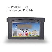 Pock-mocn Harvest  craft 32 Bit Video Game Cartridge Console Card USA Version English LANGUAGE