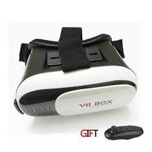 G oogleกระดาษแข็งรุ่นที่VR Boxรุ่นความจริงเสมือนแว่นตา3Dที่มีบลูทูธควบคุม
