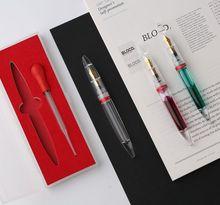 Moonman M2 pluma estilográfica de gran capacidad, pluma con cuentagotas para ojos, pluma de relleno de tinta de alta calidad