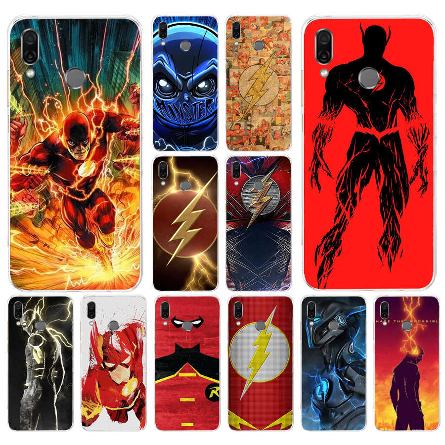 095FG The Flash Super Hero DC  gift Soft Silicone Tpu Cover phone Case for huawei Honor 8 Lite 8X