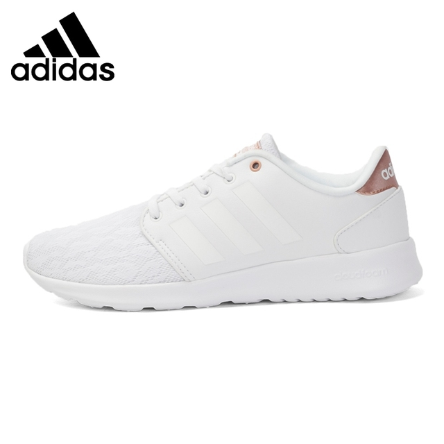 Original New Arrival 2017 Adidas NEO Label Cloudfoam Daily Qt Lx W Women's  Skateboarding Shoes Sneakers