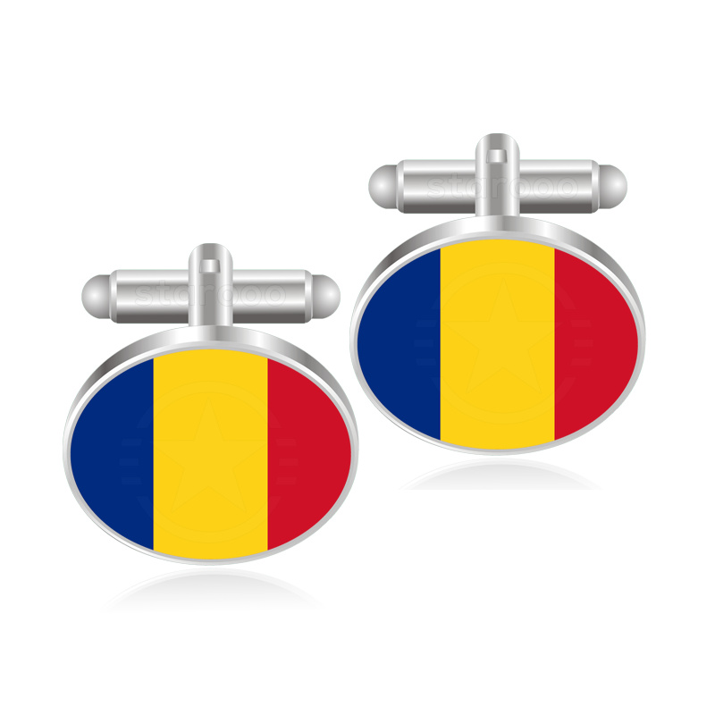 Inventive Papua New Guinea Paraguay Peru Philippines Pitcairn Islands Poland Portugal Puerto Rico Qatar Quebec Romania Flag Cufflinks Preventing Hairs From Graying And Helpful To Retain Complexion