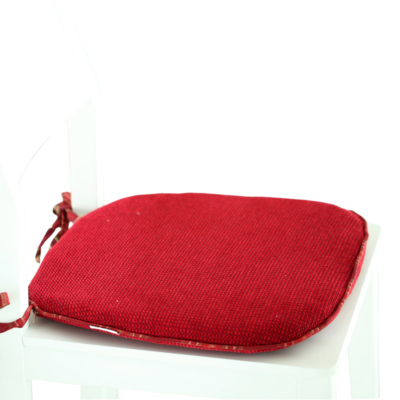 Nobildonna Removable Washable Red Seats Pad Home Kitchen
