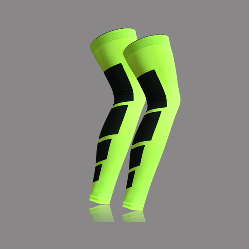 1 Pcs Basketball Long Leggings Lengthened Socks Cycling Compression Socks Running Gaiters Knee Runner Protective ...