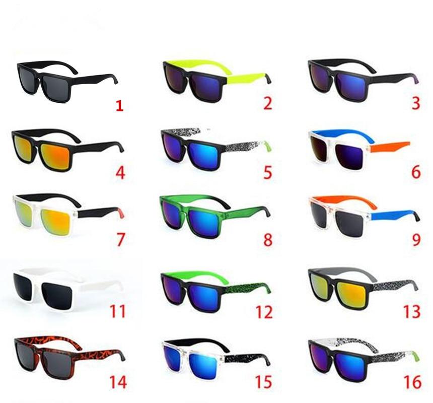 Vintage KEN BLOCK Sunglasses Men Spied Brand Designer Reflective Mirror Sun Glasses Male Women Retro Square Driving Eyewear Uv