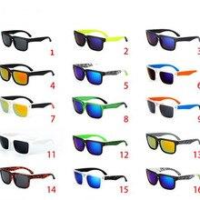 Vintage KEN BLOCK Sunglasses Men Spied Brand Designer Reflective Mirror Sun Glas