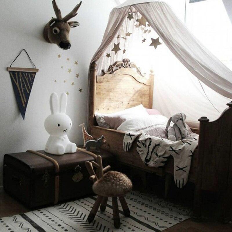 Kinder Jungen Madchen Prinzessin Baldachin Bett Volant Kinderzimmer