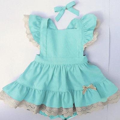 2017 Cute Kids Baby Clothes Girls Lace Ruffles Romper Dress Jumpsuit Outfits Sunsuit cute newborn baby girl romper 2017 summer ruffles polka dot princess kids jumpsuit headband 2pcs outfits sunsuit clothes