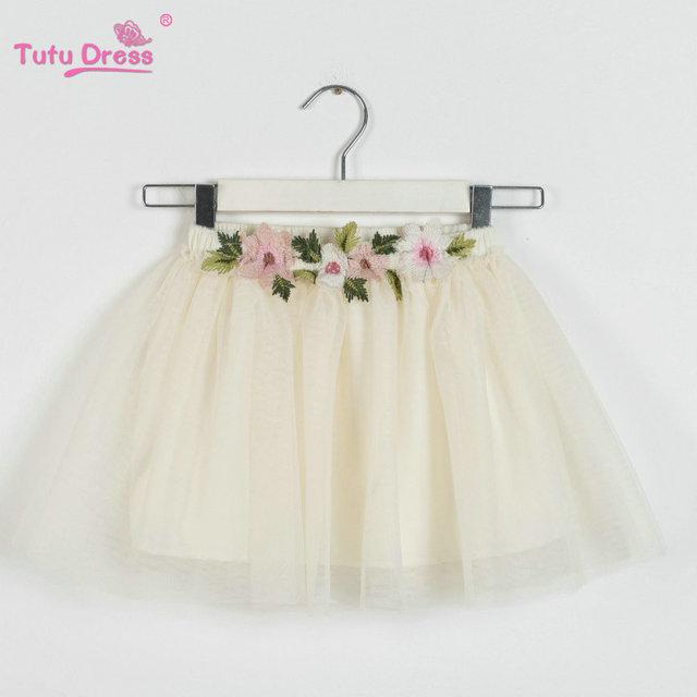 d335870af6 2018 Primavera Verano precioso mullido suave tul niñas tutú falda  Pettiskirt 5 colores niñas faldas para