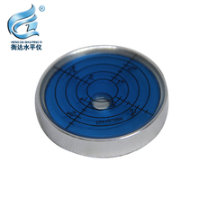 Round horizontal bubble aluminum alloy level high precision 50*10mm