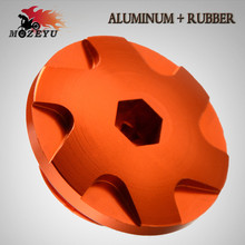 For KTM DUKE 125 200 250 390 RC 125 200 250 390 2018 Motorcycle Accessories CNC Aluminium Engine Igntion Cover Plug Orange Black cover girl 125
