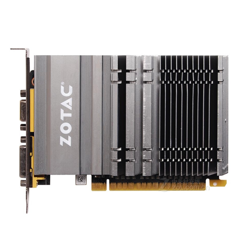 ZOTAC Video Card GeForce GT610 <font><b>1GB</b></font> 64Bit GDDR3 <font><b>GPU</b></font> Map For NVIDIA Original GT 610 1GD3 Dvi VGA PCI-E Iceman VB VD Graphics Card image