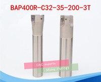 Бесплатная доставка BAP 400R C32-35-200 сменный держатель для лицевой мельницы диаметр 35 мм L = 200 мм вкладыши концевой фрезы держатель для станка с Ч...