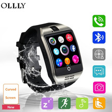 Smart Watch, Bluetooth Smartwatch Sweatproof Cell Phone SIM 2G GSM with Camera Support Sleep Monitor Push Message Anti lost