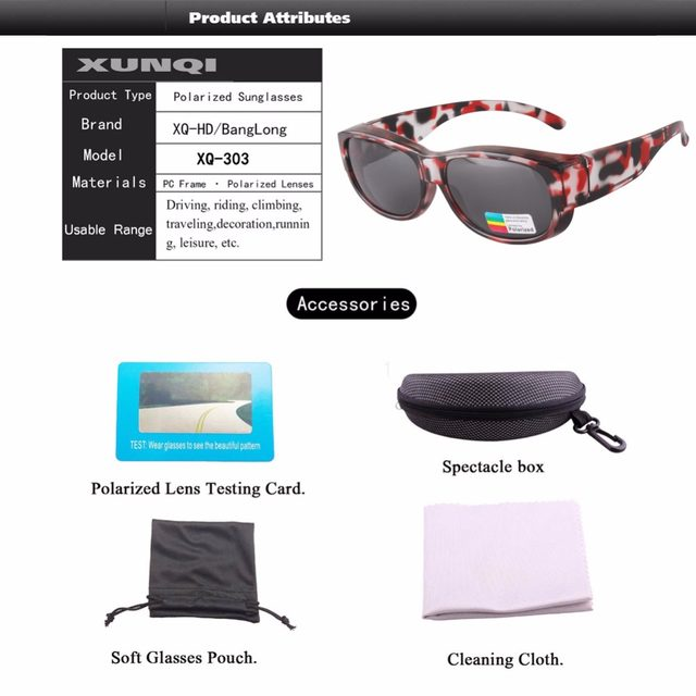 6c7c59cb8abf 2017 FREE SHIPPING NEWEST Polarized Lens Covers Sunglasses Fit Over Prescription  Glasses Adults sun glasses -in Fishing Eyewear from Sports & Entertainment  ...