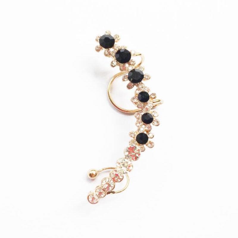 2020 NEW Clip Oorbellen clip on earrings Opal Lizard Gecko Hanging Rock Earring Clips jewelry Earring Ear Cuffs for Women LN015