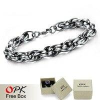 Titanium Steel link Chain Bracelet, Fashion Cable Bracelet. 1