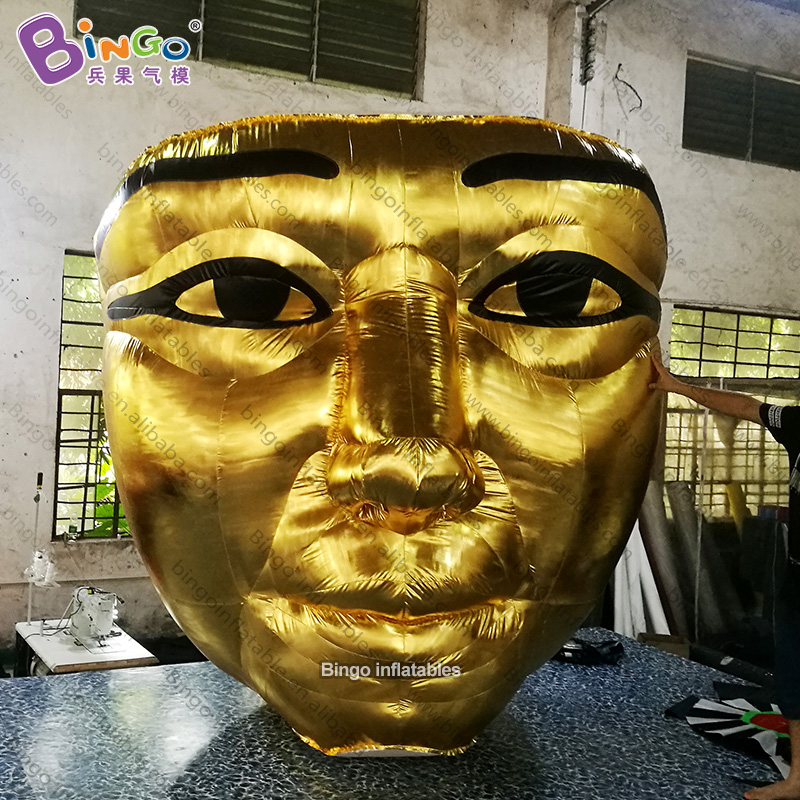 Personalized 2.5m height big inflatable mask / inflatable egyptian mask / large mask balloon inflatable for decoration toysPersonalized 2.5m height big inflatable mask / inflatable egyptian mask / large mask balloon inflatable for decoration toys