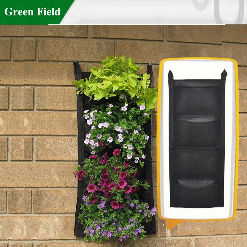 1pc Felt Vertical Garden Products Wall Planter Living