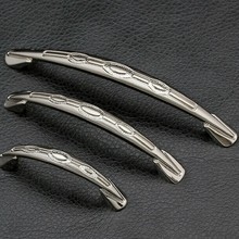 128mm kichen cabinet handles stain nickel cupboard pull silver drawer dresser wardrobe door handle 5 modern