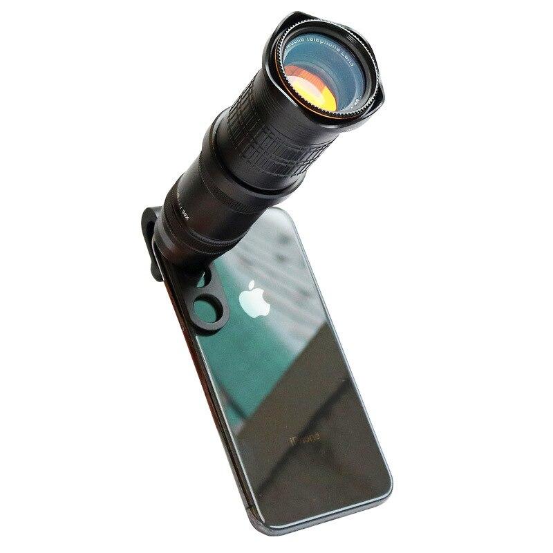 ORBMART 18x 30x 4K HD Fisso Zoom Teleobiettivo Telescopio per Smartphone Del Telefono Mobile Lente di Clip Universale Senza Vignettatura - 6