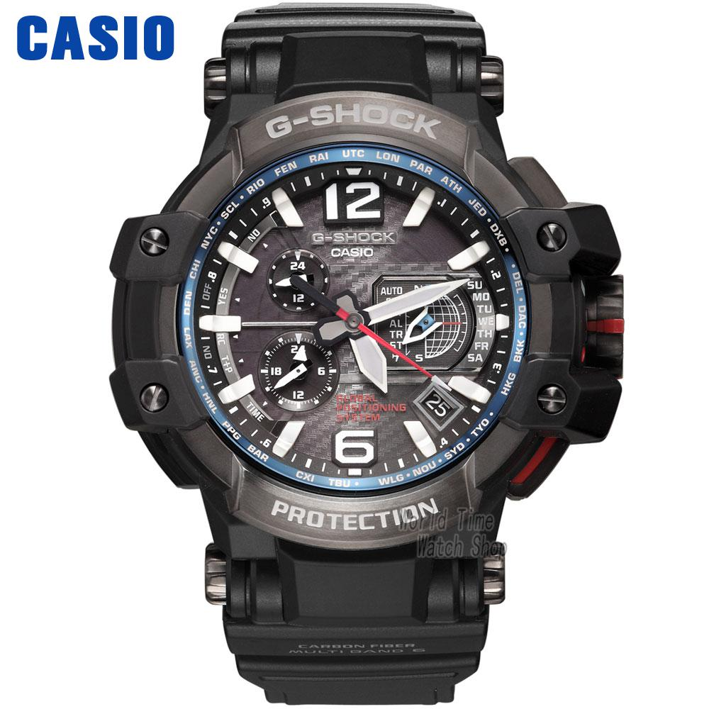Casio watch G-SHOCK Large dial multi-functional sports men's watch GPW-1000-1A