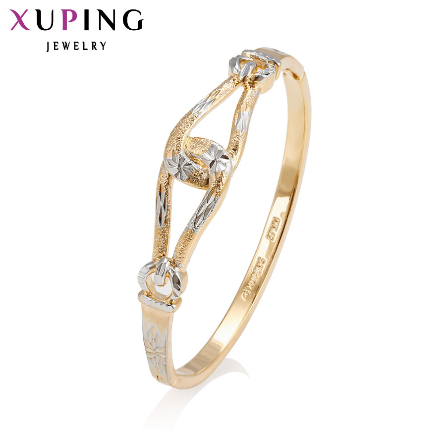 11.11 Deals Xuping Fashion Bangle Wholesale Beautiful Bangle New Style for Women Bracelet Special Design for Gift 51193