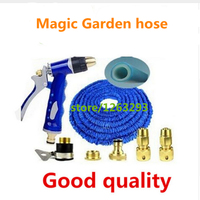 100FT Garden Hose Kit Portable Car Washing Tool Household Watering Set All Brass Accessories