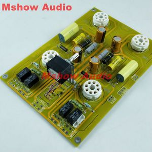Image 4 - Famous circuit 6SN7 Tube preamplifier DIY KIT refer Cary AE 1 preamp HIFI audio option bare pcb board pre amp