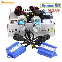 Buildreamen2 35 Watt HID XENON KIT Vorschaltgerät Lampe 10000 Karat Blau Auto Scheinwerfer Nebelscheinwerfer licht H1 H3 H7 H8 H9 H11 9005 HB3 9006 HB4 880 881