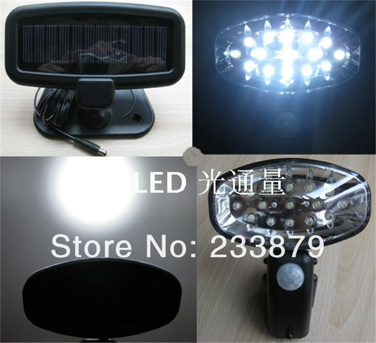 Luz De Pir LED Solar Panel Powered Human Motion Sensor Wall Lamps Hyundai Solaris Outdoor Solar Fence Pathway Porch Street light