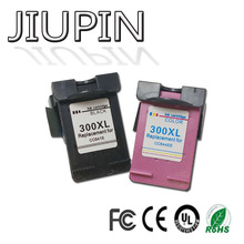 JIUPIN Compatible 300 ink cartridge for HP 300xl for hp300 for hp300xl Deskjet D1660 D2560 D2660 D5560 F2420 F2480 F2492 high ink volume re manufactured ink cartridge for hp 300xl 15 17ml cc644ee 300xl tri colour inkjet cartridge for deskjet d2660
