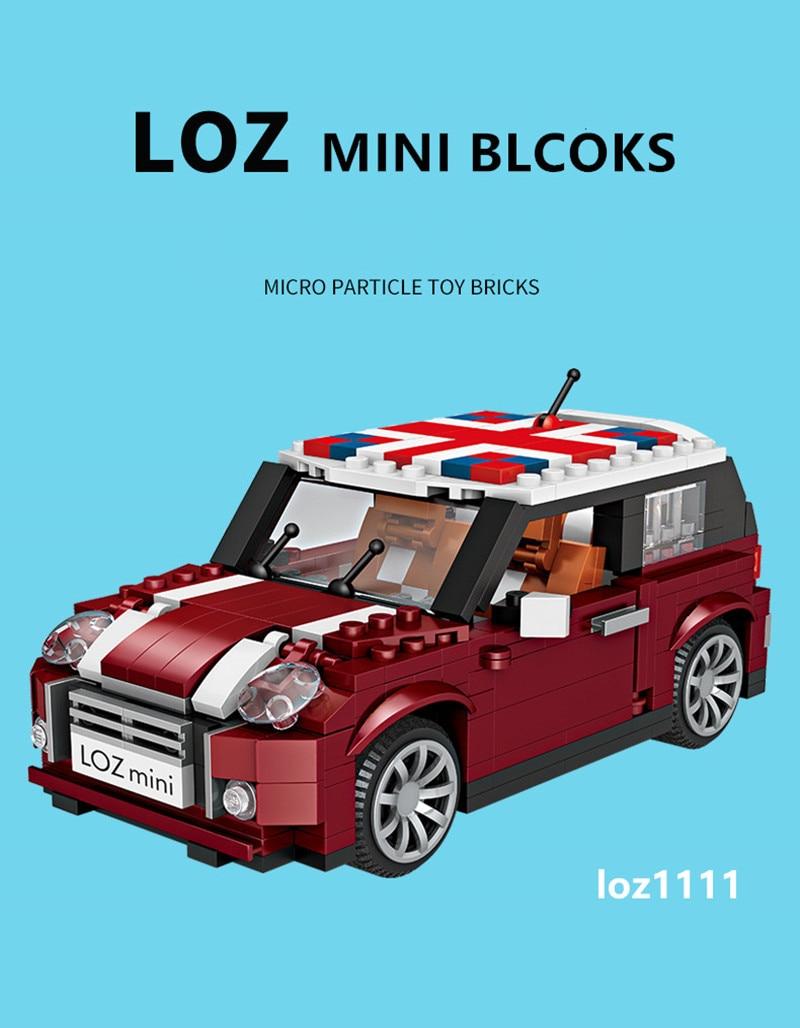 Técnica Para Camión De Bloques Construcción Caliente Niños Educativos Mini Perro Vehículo Juguetes Coche Loz Assemable Creador Carro 4jqc3R5ALS