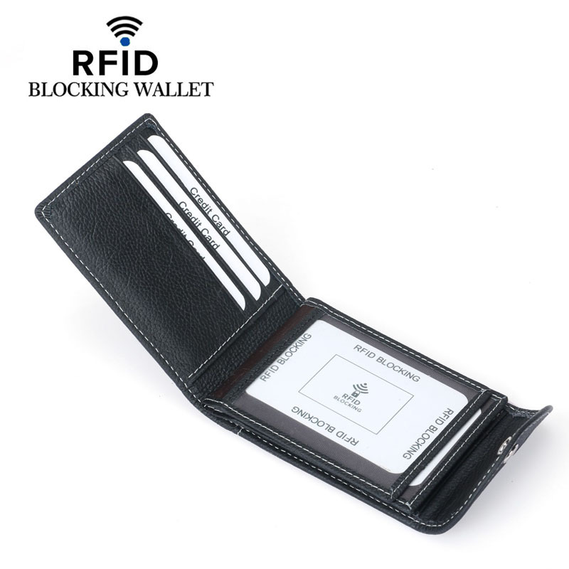 Weduoduo New ID Business Credit Card Holder Men Wallet Cover Case Driver License Auto Document Of Car For Porte Carte Cardholder