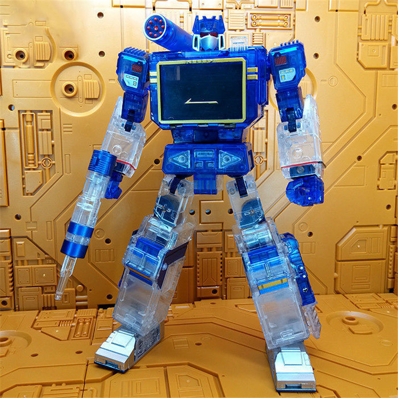Robot model figure collections Toy HF 1t figure sound wave deformation toy King Kong mp 13 Transformation toy for child